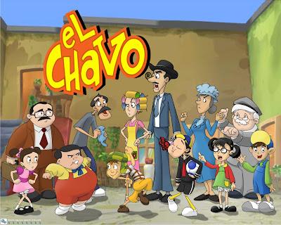 Versi  N En Caricaturas Animadas De El Chavo