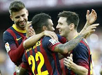 El Barcelona barrió al Levante por 7-0