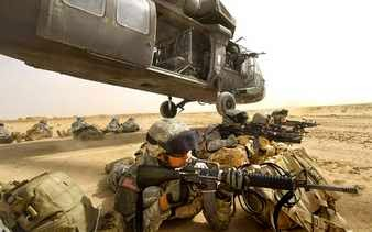 Marines en acción