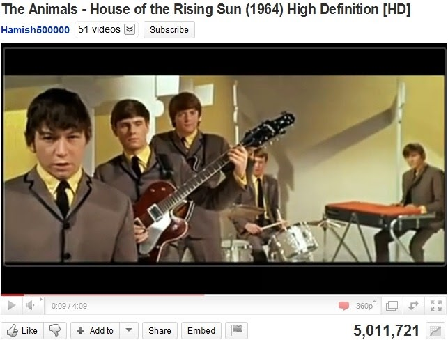 """Anonymous_X: Revisiting """"House of the Rising Sun"""""""