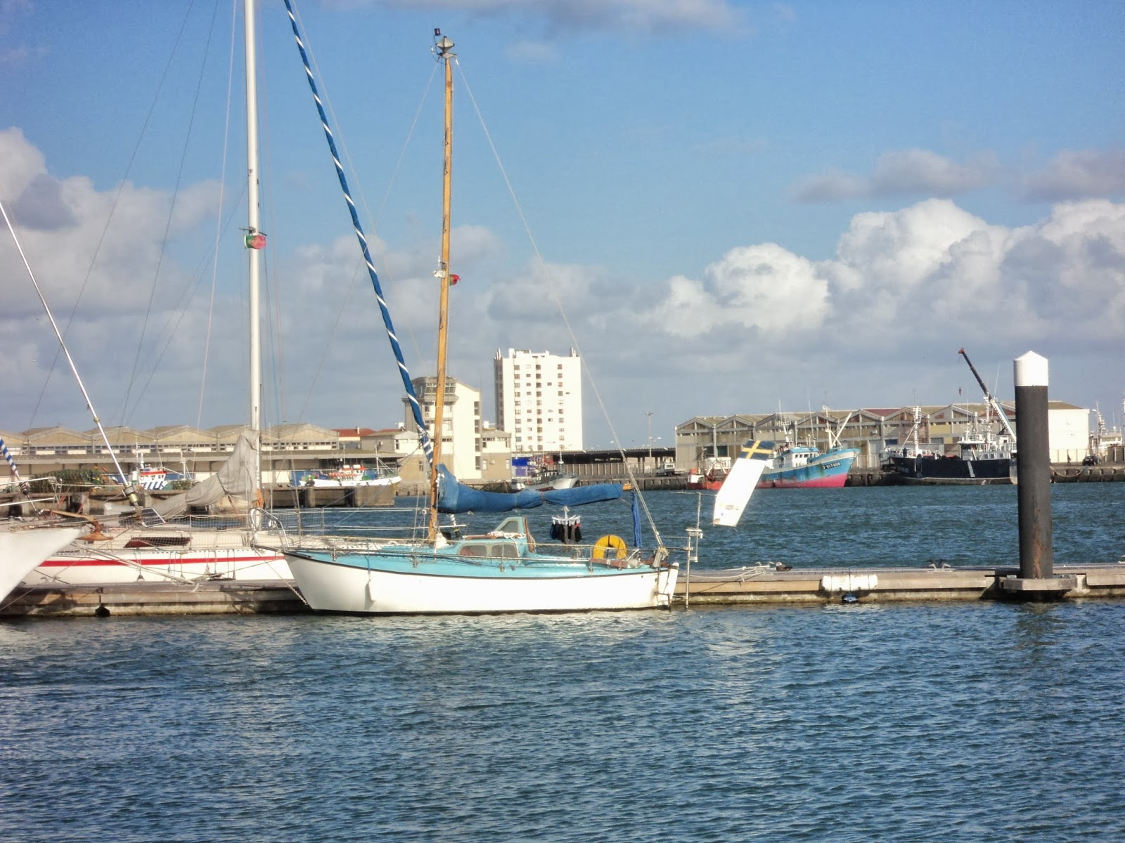 guest dock in Peniche