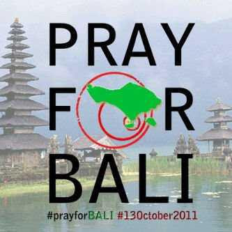 pray for Bali
