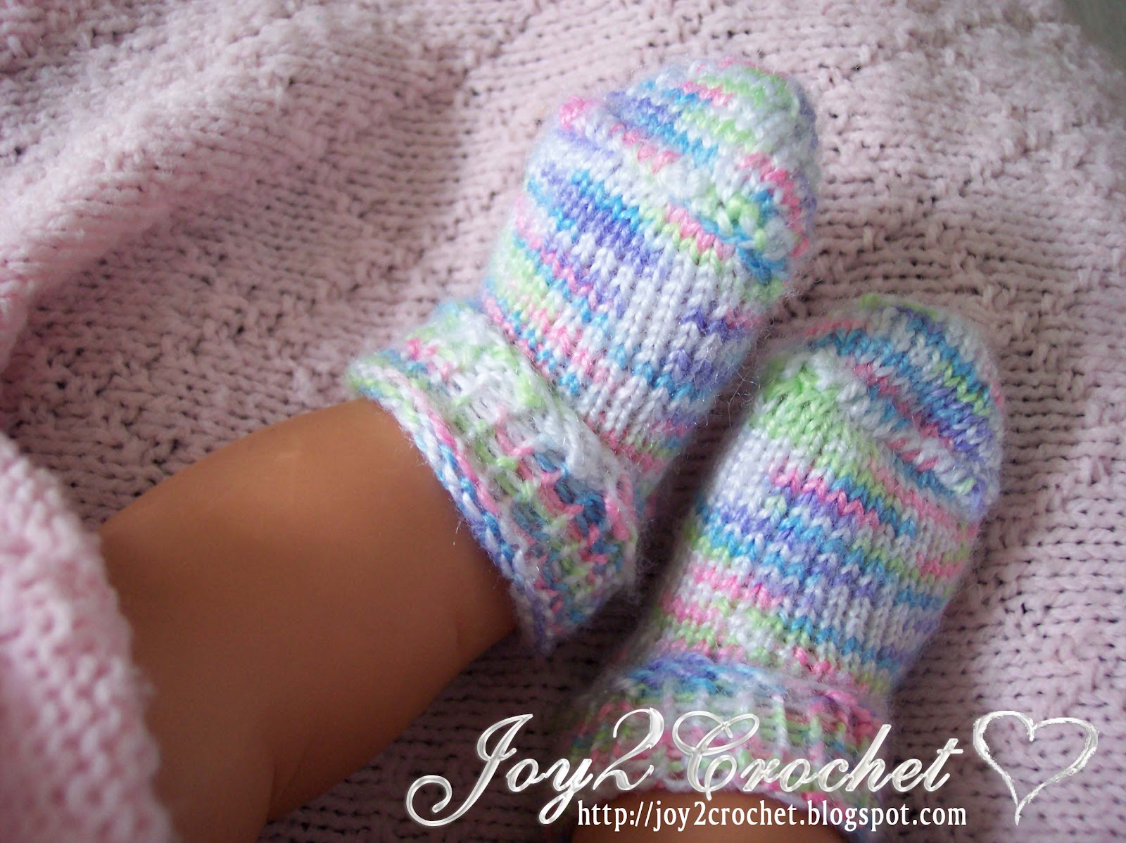 Free Knitting Pattern For Baby Headband : Joy 2 Crochet: KB Adjustable Sock Knitting Loom