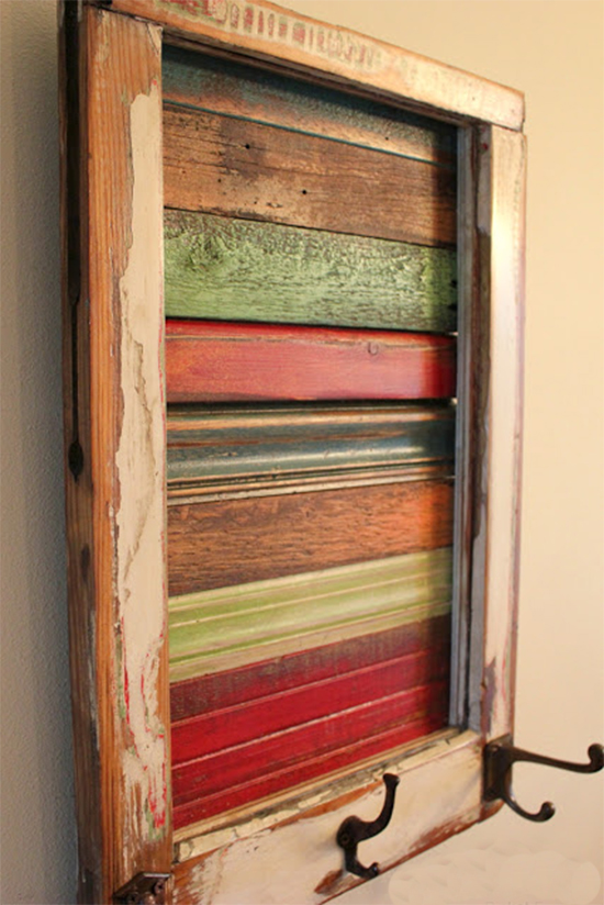 cabideiro, tinta lousa, janela reciclada, reaproveitar janela, janela velha, reciclagem, upcycling, reaproveitar, old window