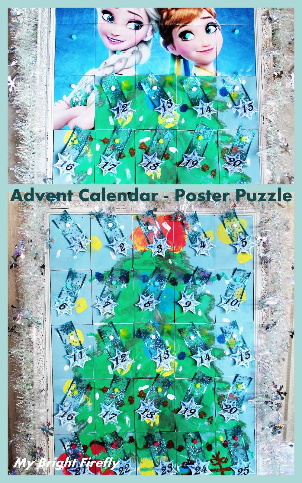 My Bright Firefly: Winter Snowflakes Advent Calendar ...