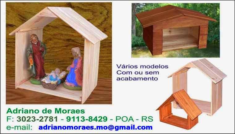Casinhas em madeira