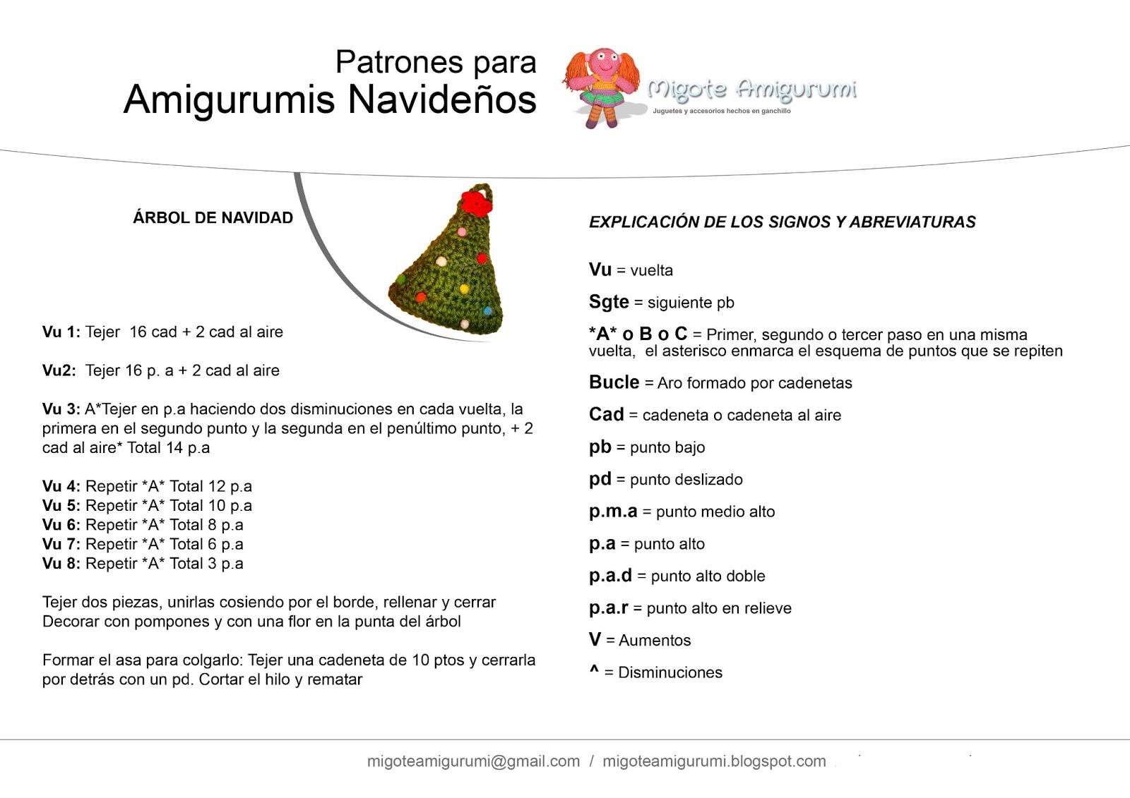 Patrones Migote Gratuitos | Migote Amigurumi