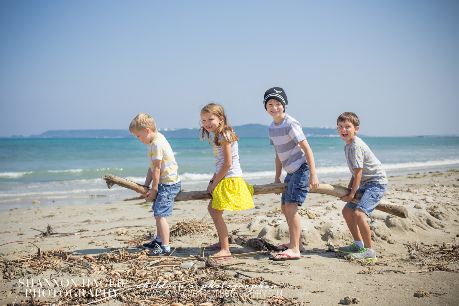 Children's Photography by Shannon Hager Photography, Beach