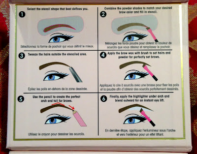 Too Faced Cosmetics Brow Envy INSTRUCTIONS