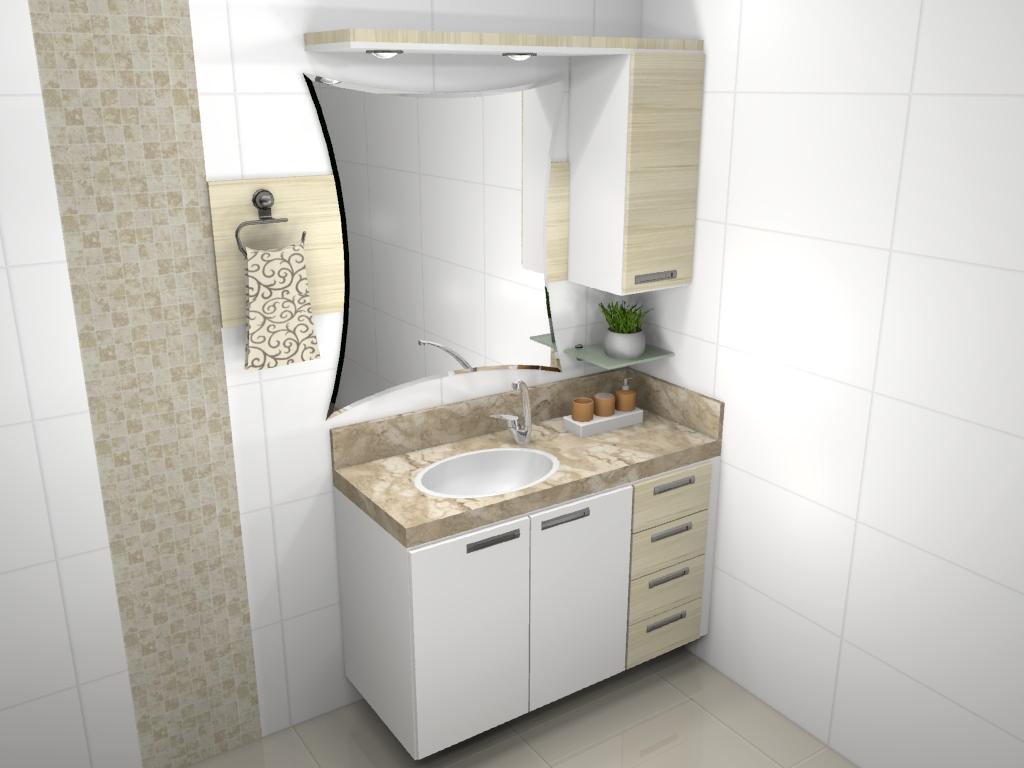 Du Planejados Banheiro -> Banheiro Simples De Sitio