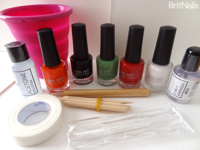 Rio Beauty Marble Nail Art Polish London Collection Review