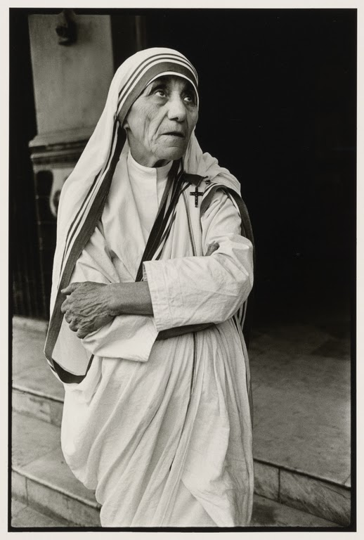 Mother Teresa in Calcutta (Kolkata) - 1980