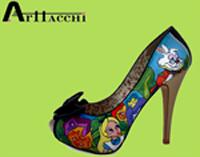 Zapatos con arte