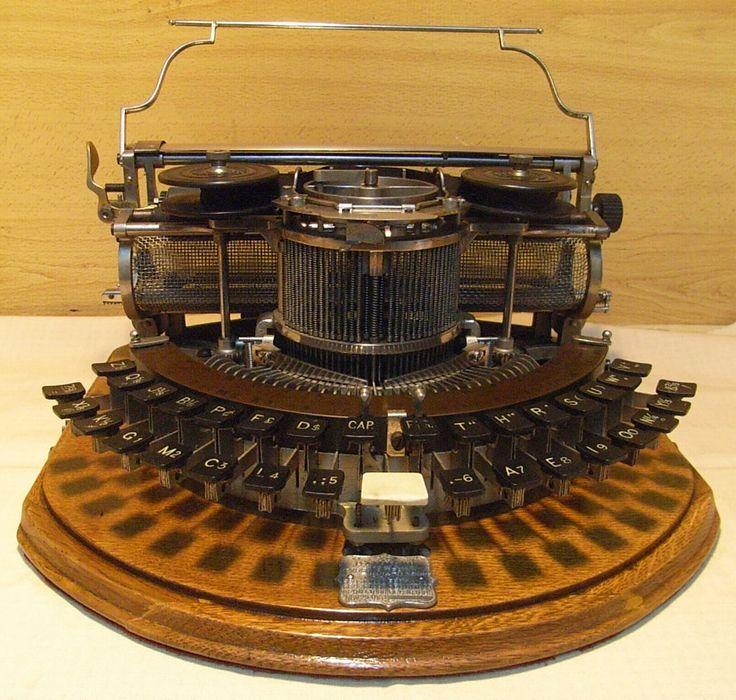 Exposición de máquinas de escribir