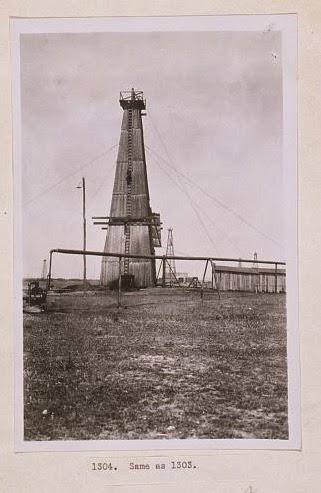 Sonda de petrol interbelica