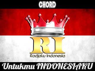 Lirik dan Chord(Kunci Gitar) Radja ~ Untukmu Indonesiaku