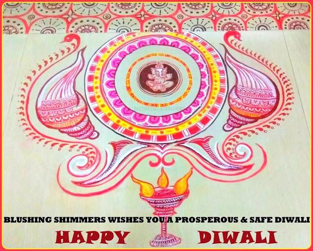 Diwali alpana by Dr Stuti Sanghal