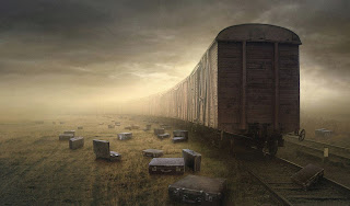 Train And Cases Dark Gothic Wallpaper