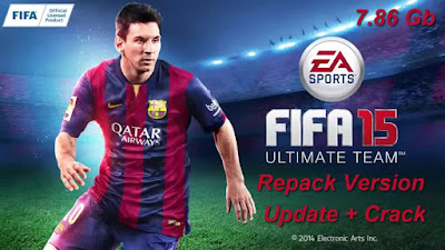 Free Download Game Fifa 15 Ultimate Edition Pc Full Version – Repack – Update/Crack – Original Version 2015 – Direct Link – Torrent Link – 7.86 Gb – Working 100% .
