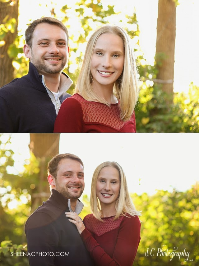 Saint Joseph Michigan Fall Engagement Session