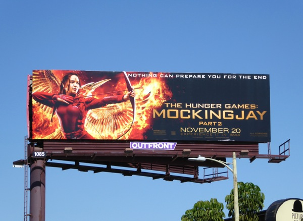 The Hunger Games Mockingjay Part 2 billboard
