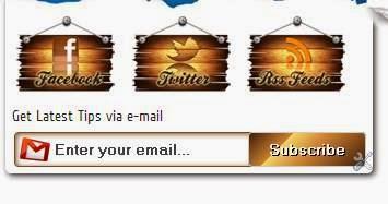 Thủ thuật tạo Widget đăng kí nhận bài đăng cho Blogspot