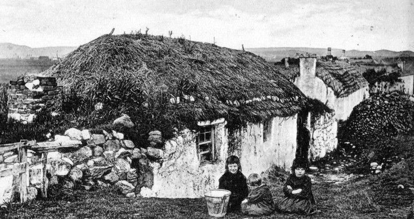 Tour scotland photographs old photograph crofters cottages isle of