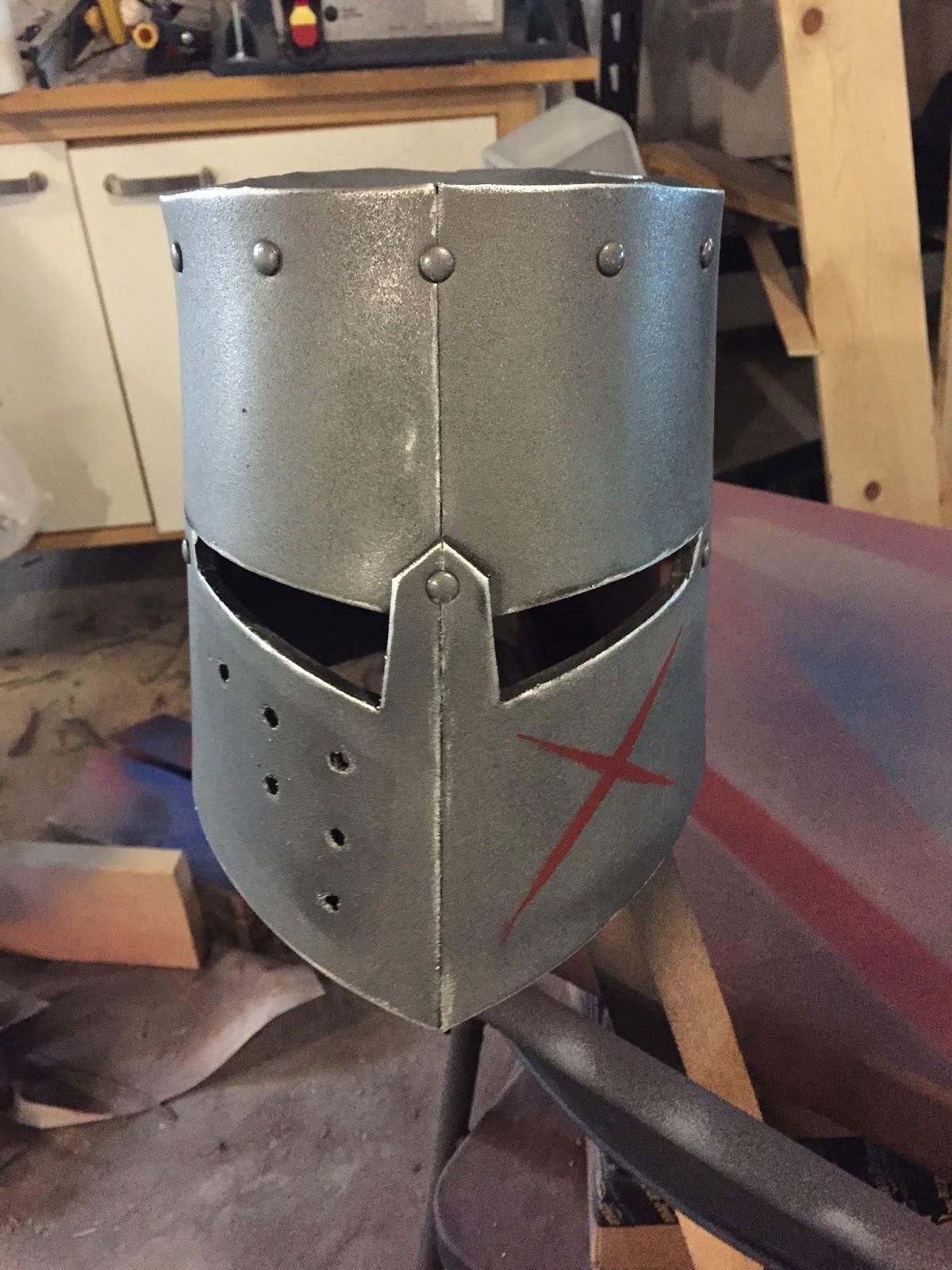 Parts And Krafts Cheap Kids Diy Knightcrusader Helmet