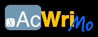 AcWriMo 2013 logo