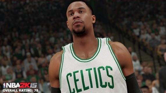 Jared Sullinger NBA 2K15 Screenshot