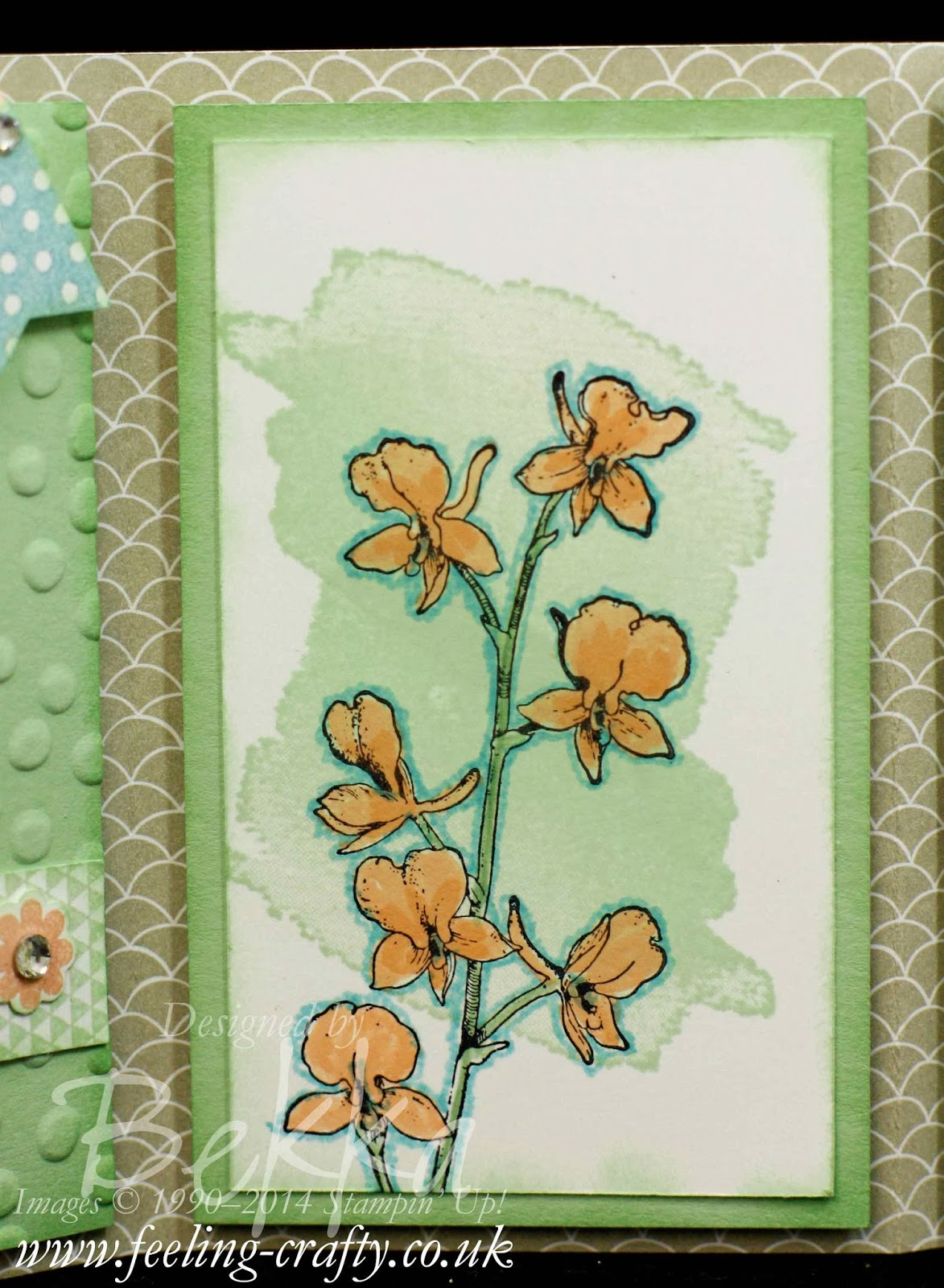 Scallop Top Tag Punch Card / Album - get the tutorial here.  This version features the Sweet Sortbet Papers, Perfect Pennant, Happy Watercolor and Banner Blast Stamps.