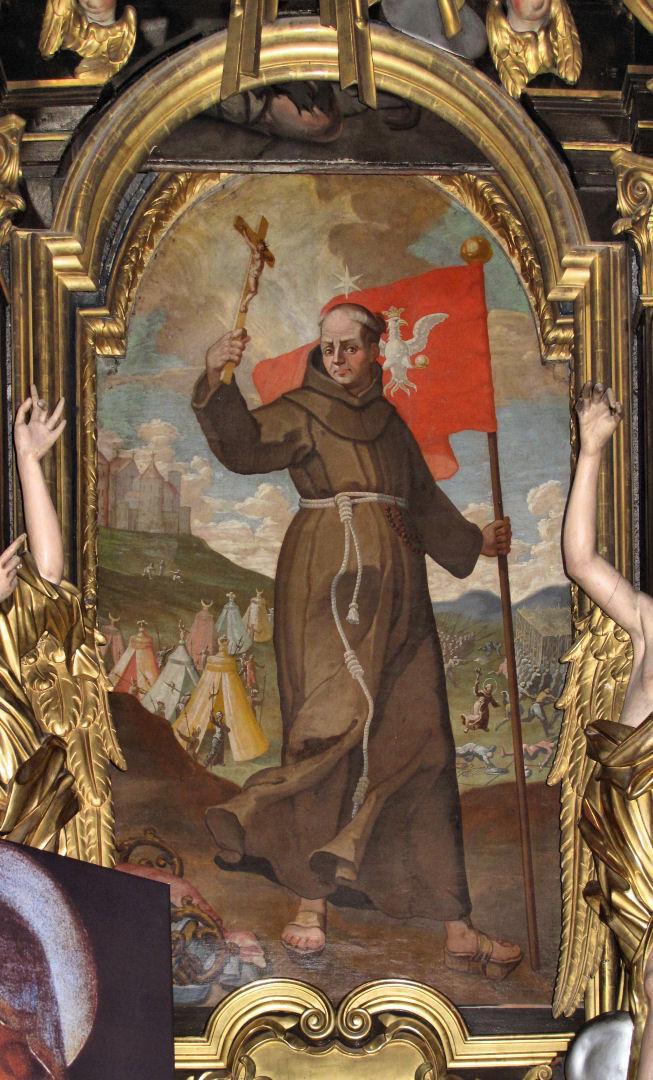 San Juan de Capistrano fué uno de los grandes héroes de la batalla de Belgrado