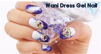 Wani dress Gel Nail