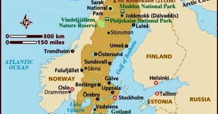 Superstition Is All We Have Left The Girl With The Extraordinary - Sweden map hedestad