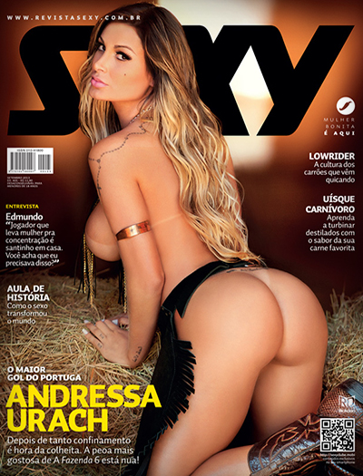capa Download   Revista Sexy : Andressa Urach   Setembro 2013 + Making OFF