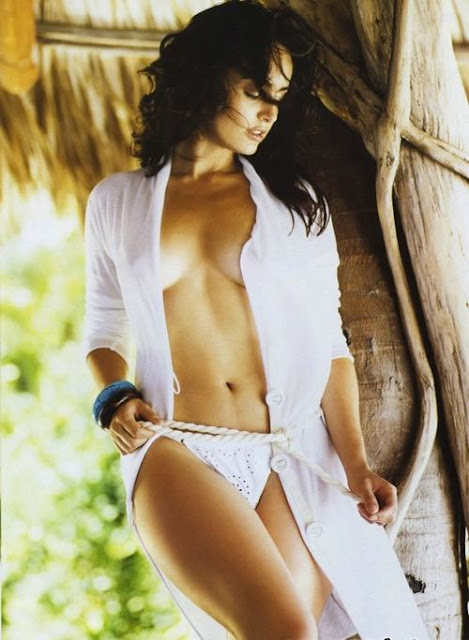 Ana de la Reguera in white robe, Ana de la Reguera sexiest photos ever, Ana de la Reguera sexy images