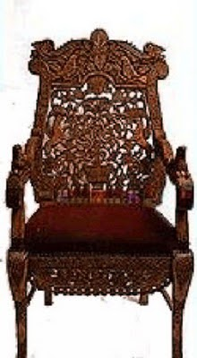 The Chair of Rebbe Nachman of Breslov