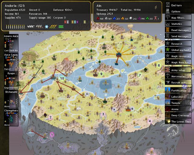 Dominions 4  - Valanis Map Description