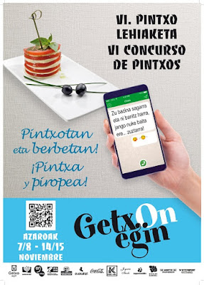 VI. Concurso de Pintxos de Getxo 'GetxOnEgin'