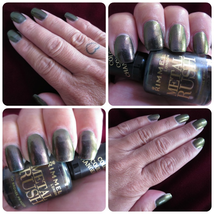 Bronze Princess nail polish by Rimmel London