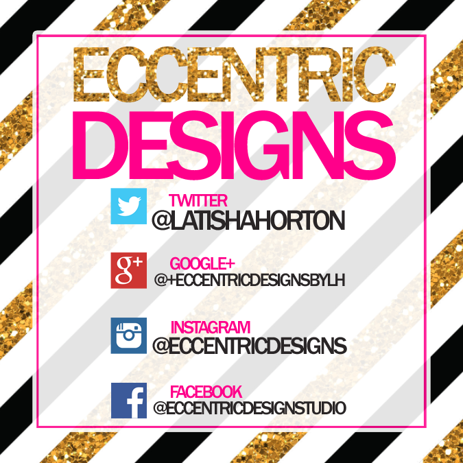 Let's Get Social! #iloveEccentricDesigns