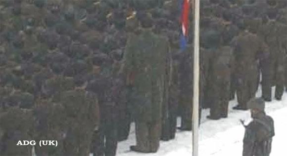 Humanoides alienígenas asistieron al funeral d Jong 2? Ggggggggg