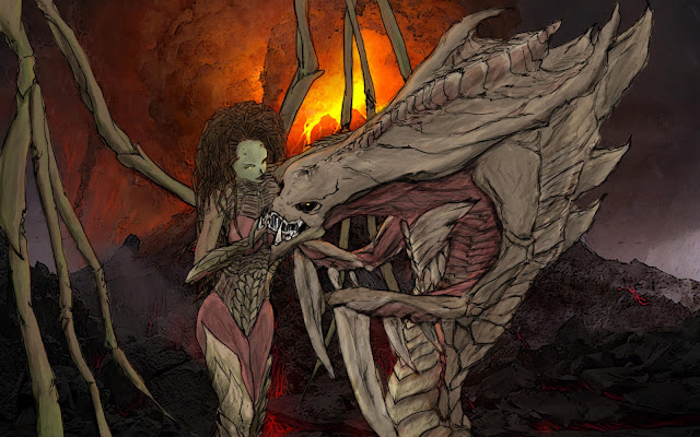 kerrigan with hydralisk por hobbesl115