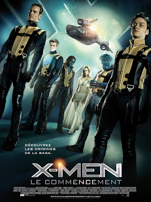 International X-Men First Class Theatrical One Sheet Movie Poster