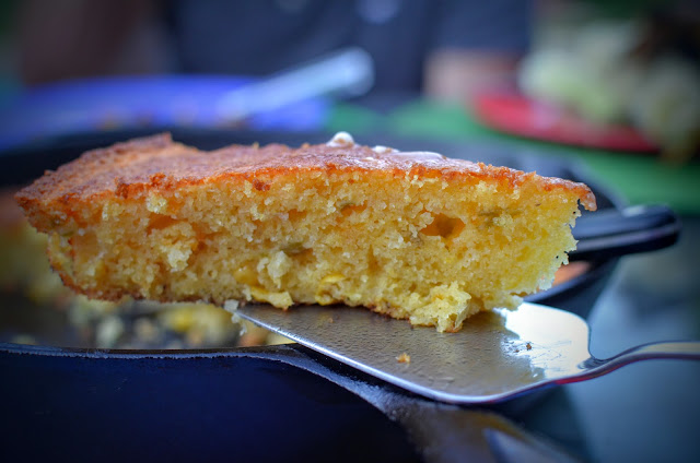 Skillet Cornbread | Cheesy Pennies