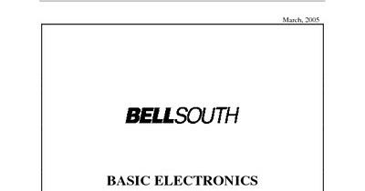 basic electronics study guide pdf