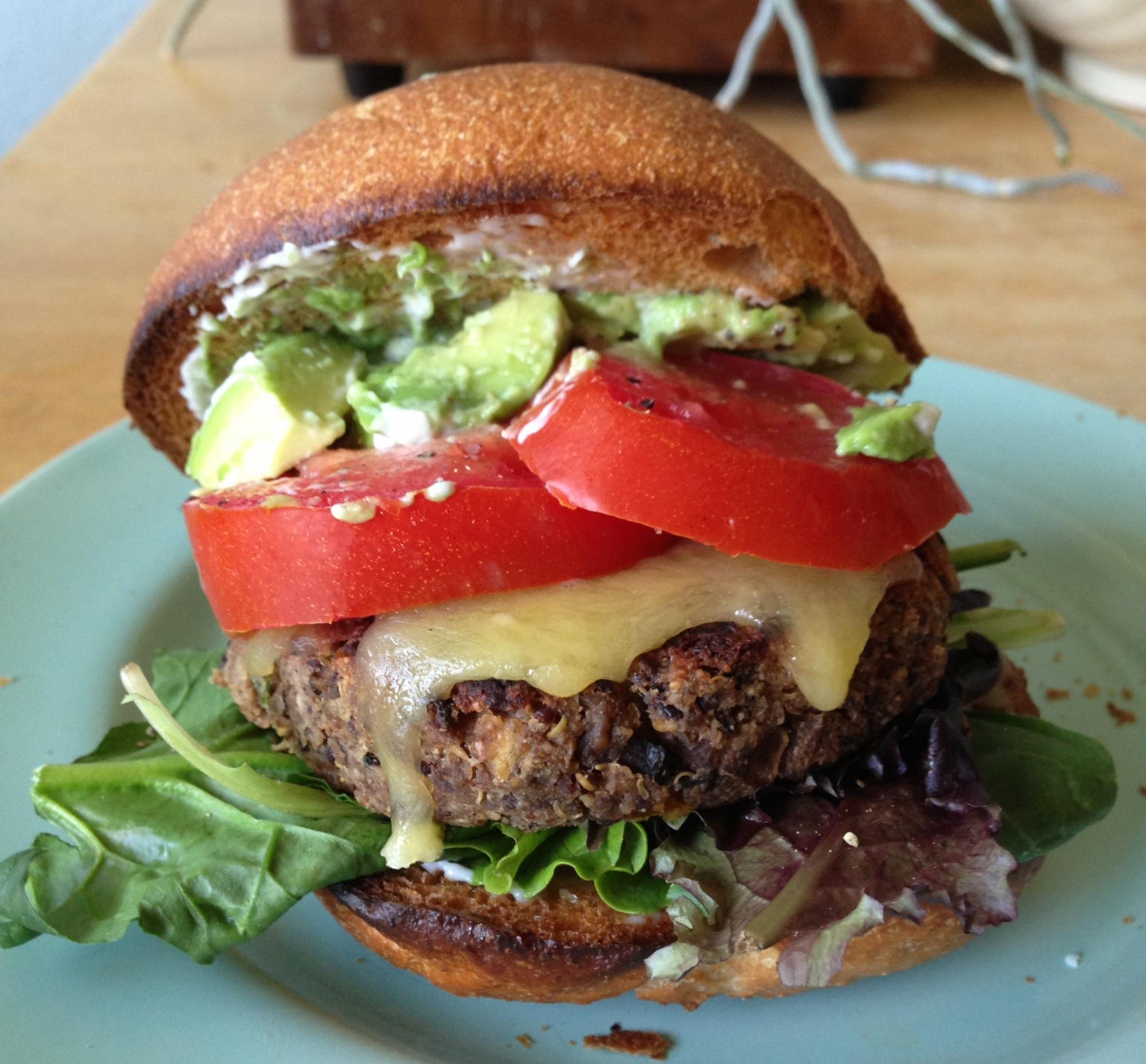 Pinto-and-Rice Burgers Recipe — Dishmaps