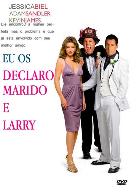 Filme Eu os Declaro Marido e… Larry Dublado AVI DVDRip