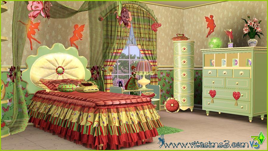 Justena Fairy Fantasy Girls Bedroom By Vita Sims