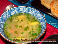 a Chinese healthy soup recipe lamb with radish soup